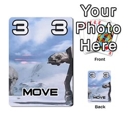 Battle For Hoth By Simon   Multi Purpose Cards (rectangle)   6hj7o6uztcfk   Www Artscow Com Front 25