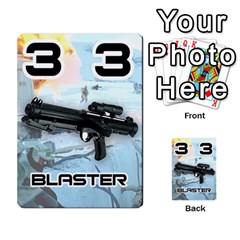 Battle For Hoth By Simon   Multi Purpose Cards (rectangle)   6hj7o6uztcfk   Www Artscow Com Front 31