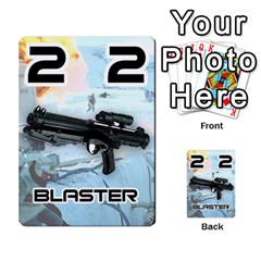 Battle For Hoth By Simon   Multi Purpose Cards (rectangle)   6hj7o6uztcfk   Www Artscow Com Front 36