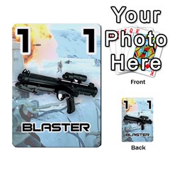 Battle For Hoth By Simon   Multi Purpose Cards (rectangle)   6hj7o6uztcfk   Www Artscow Com Front 50