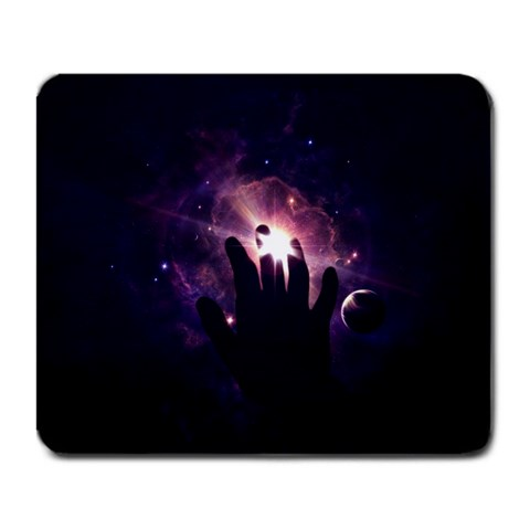 Universe By Emil  geeken  Persson   Large Mousepad   M97zdrmecyxf   Www Artscow Com Front