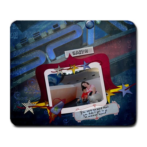Mouse By Tamara Shoulders   Large Mousepad   Pa0z438pqcwy   Www Artscow Com Front