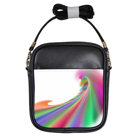 By Artist Cassie   Girls Sling Bag   Huau84o2dhg4   Www Artscow Com Front