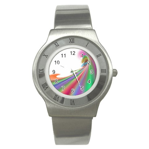 By Artist Cassie   Stainless Steel Watch   Bfzsr9ngaeff   Www Artscow Com Front