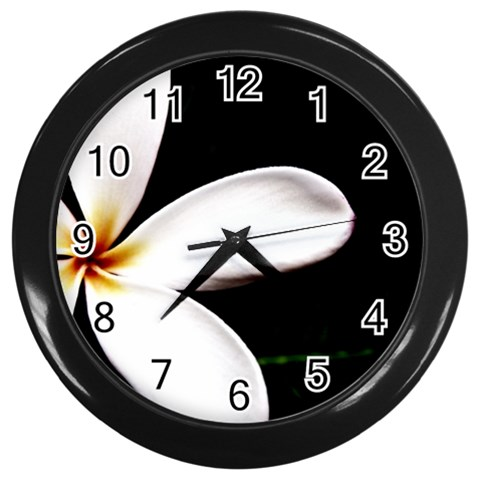 By Artist Cassie   Wall Clock (black)   2tu1uk09umk8   Www Artscow Com Front