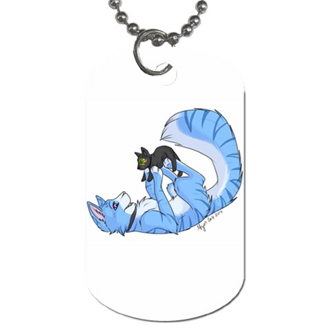 Skieplushie By Akumasephitaro   Dog Tag (one Side)   Ffea0s2s7bme   Www Artscow Com Front