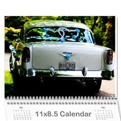Wedding Calender By Lisa   Wall Calendar 11  X 8 5  (12 Months)   Nnz7bn90wosi   Www Artscow Com Cover