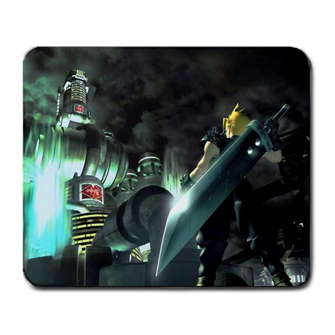 Ffvii Mousepad By Andrew Rooke   Large Mousepad   Fwgx1yubnlny   Www Artscow Com Front