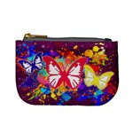 Butterfly Paint - Mini Coin Purse