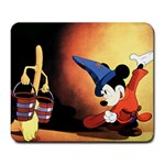 For My Mickey Mouse Computer & Art room :) - Large Mousepad