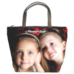 My Angels By Tracy Gardner   Bucket Bag   Pmbr3vr8kxsl   Www Artscow Com Front