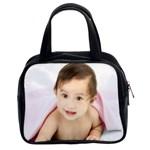Lauren s Pic on bag - Classic Handbag (Two Sides)