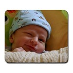 Dylan s half smile. - Large Mousepad