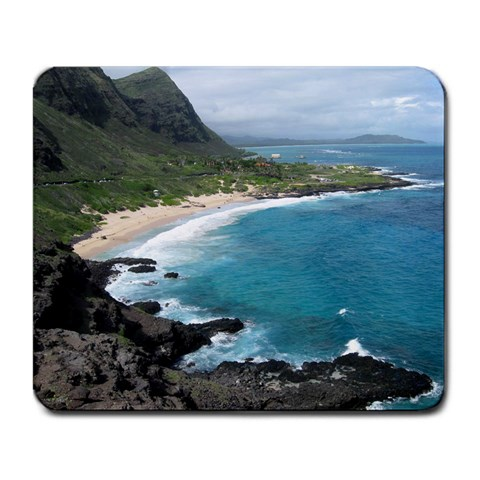 Hawaii By Liz Frazier   Large Mousepad   Ptoo1mc2c3j2   Www Artscow Com Front