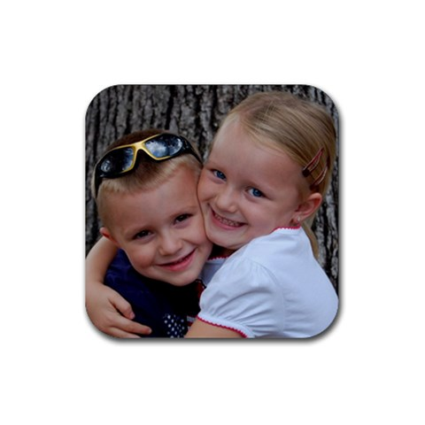 Kids Coaster By Faith Hale   Rubber Coaster (square)   Ia3vkymfycgi   Www Artscow Com Front