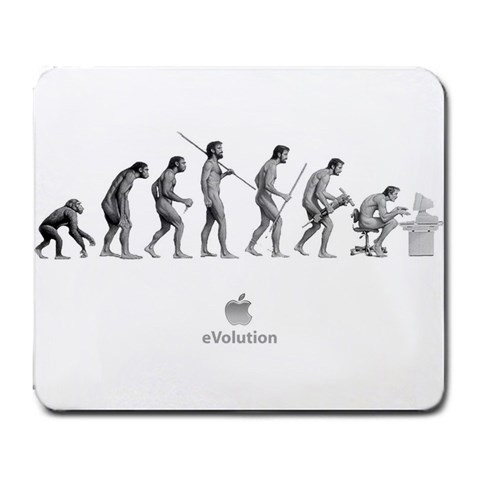 Evolution By Mohamed Gahbiche   Large Mousepad   Kkx4rgf5zj85   Www Artscow Com Front