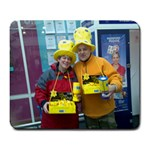 marie curie fundraising - Large Mousepad
