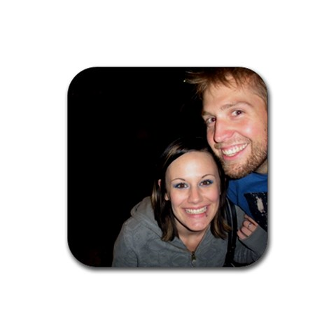 Shann & Renner By Zre   Rubber Coaster (square)   Zyr3ks5ljo4o   Www Artscow Com Front