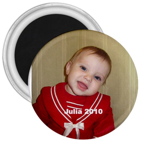 Julia 2010 Magnet By Per Westman   3  Magnet   Suvkw3aa0lix   Www Artscow Com Front