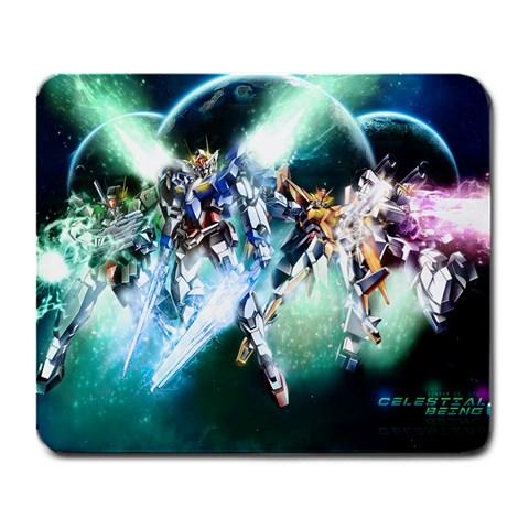 Gundam 00 Season 2 Custom Mousepad By Paul Yin   Large Mousepad   4iabgto4a9bz   Www Artscow Com Front