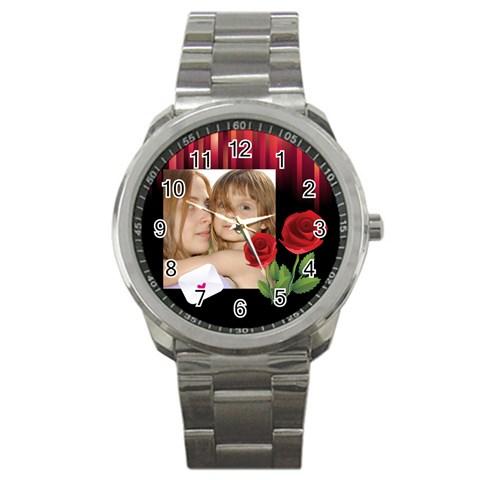 Love Summer Watch By Wood Johnson   Sport Metal Watch   Iu7j2szxh1to   Www Artscow Com Front
