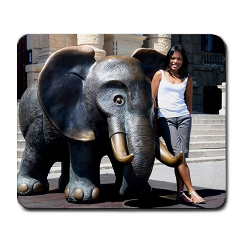 Mousepad Elephant Souri By Andreas   Collage Mousepad   Ef48o8s432ec   Www Artscow Com 9.25 x7.75 Mousepad - 1