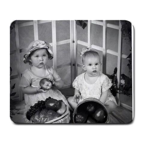 Apple  Dumplings By Loretta England   Large Mousepad   O61o7qlkm44k   Www Artscow Com Front