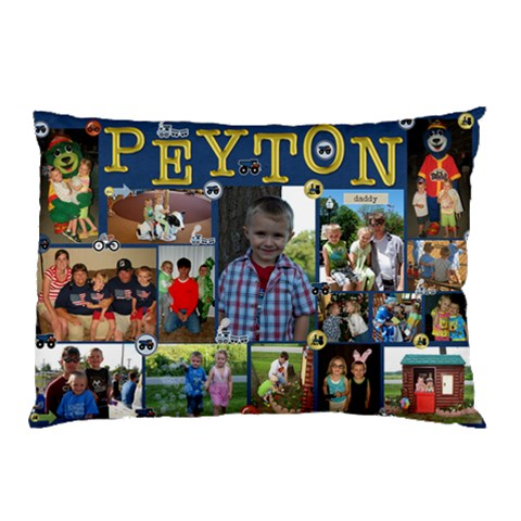 Peyton Pillowcase By Faith Hale   Pillow Case   E865ct2a7bdq   Www Artscow Com 26.62 x18.9 Pillow Case