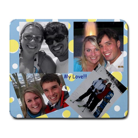 My Mousepad By Jennifer Tatelbaum   Collage Mousepad   8iqctrkcgt21   Www Artscow Com 9.25 x7.75 Mousepad - 1