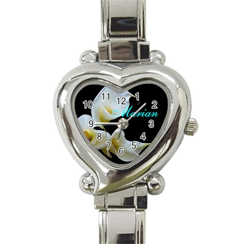 Watch I Made For One Of The Gals In My Wedding By Michaelann Dach   Heart Italian Charm Watch   Iwhe0utlw5l6   Www Artscow Com Front