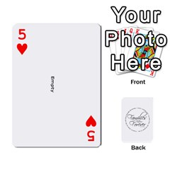 Hall Cards By Heather   Playing Cards 54 Designs   93yr5uefcern   Www Artscow Com Front - Heart5