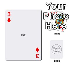 Hall Cards By Heather   Playing Cards 54 Designs   93yr5uefcern   Www Artscow Com Front - Diamond3