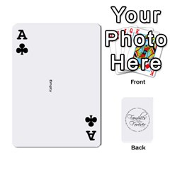 Ace Hall Cards By Heather   Playing Cards 54 Designs   93yr5uefcern   Www Artscow Com Front - ClubA