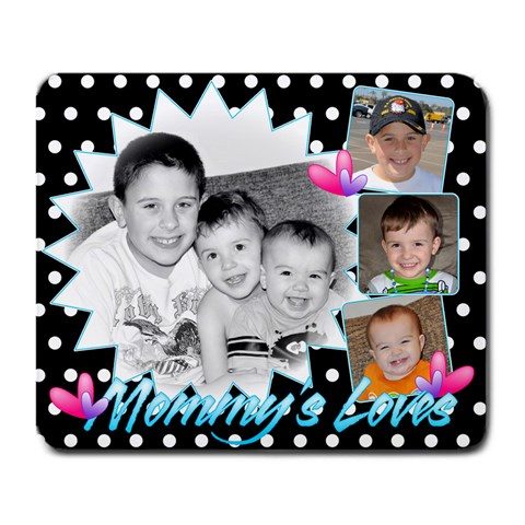 Mommy s New Mousepad :d  By Rebecca   Large Mousepad   Dovmeqcrln81   Www Artscow Com Front