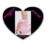 HANNAH - Heart Mousepad
