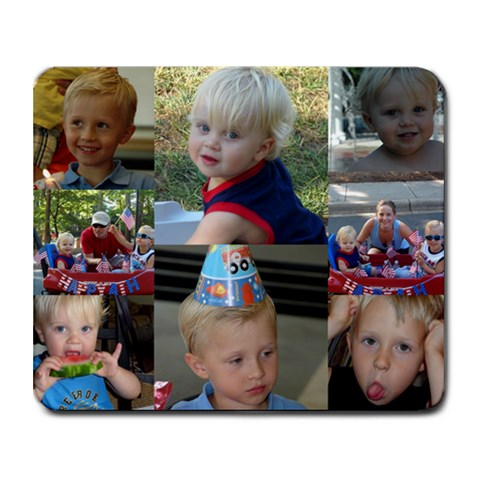 Mousepad By Sommer Emery   Collage Mousepad   N7d2lo0rm51i   Www Artscow Com 9.25 x7.75 Mousepad - 1