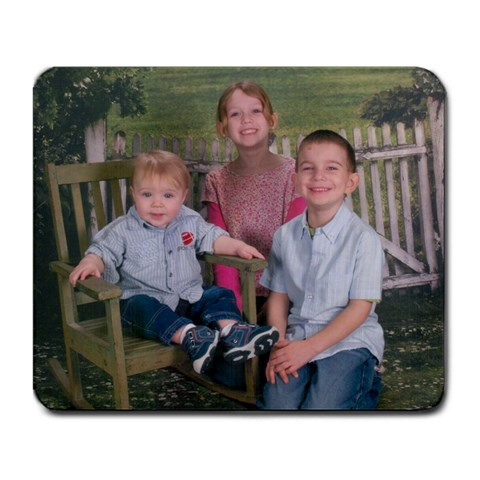 3 Of My Grandkids Mousepad By Sherry Mcgee   Large Mousepad   Uot8yrlfzvbi   Www Artscow Com Front