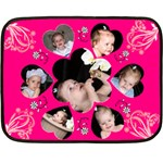 Jayda Blanket 1 - Fleece Blanket (Mini)