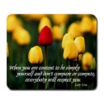 Simply Be Yourself Mousepad - Large Mousepad