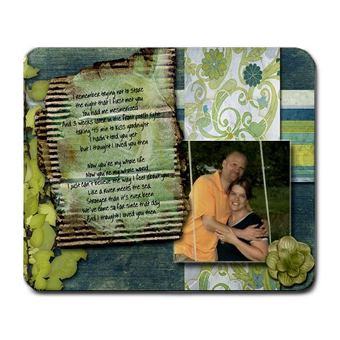 Lyrics By Jennifer Schnepf   Collage Mousepad   5t2iodqskcp4   Www Artscow Com 9.25 x7.75 Mousepad - 1