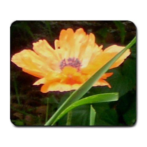 Beautiful Poppy By Sharon Bowers Cernik   Large Mousepad   Gdbw4d7mn54t   Www Artscow Com Front