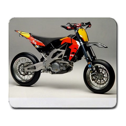 Aprilia Supermoto By Rick Couture   Large Mousepad   0yjr2zm8v7a4   Www Artscow Com Front