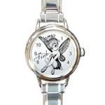 Tinkerbell watch - Round Italian Charm Watch