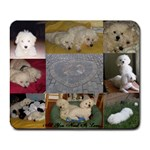 Bichon Love - Collage Mousepad