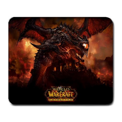 Cataclysm! By Drake Pechous   Large Mousepad   Mr5ny8r18l7t   Www Artscow Com Front