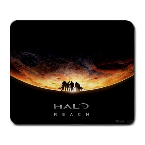 Halo : Reach Mousepad! By Adam Axel Stead   Large Mousepad   0eb9zfuswn98   Www Artscow Com Front