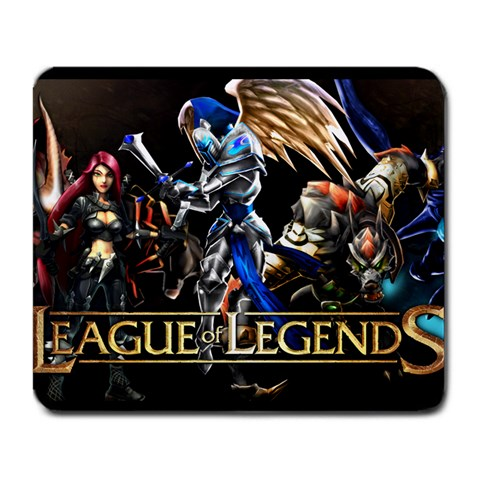 League Of Legends By Julian Wallenborn   Large Mousepad   Wjt8hqeowgqv   Www Artscow Com Front