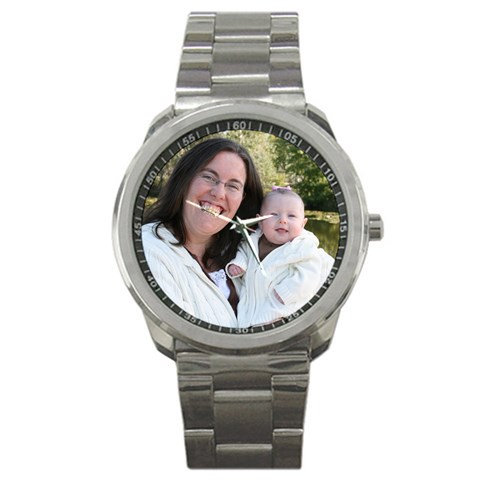 Mommy & Baby By Shannon   Sport Metal Watch   18k2w5qrors0   Www Artscow Com Front
