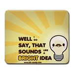 Bright Idea - Large Mousepad