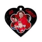 LEA tag - Dog Tag Heart (Two Sides)